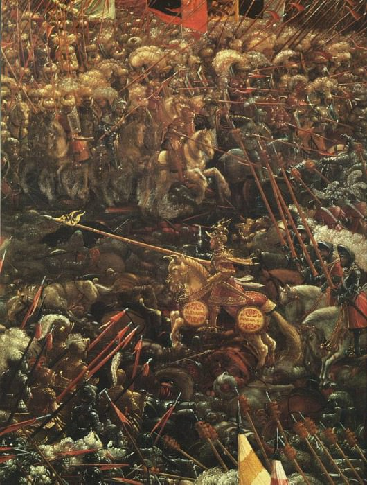 ALSLOOT Denis van The Battle Of Alexander Detail. The Italian artists