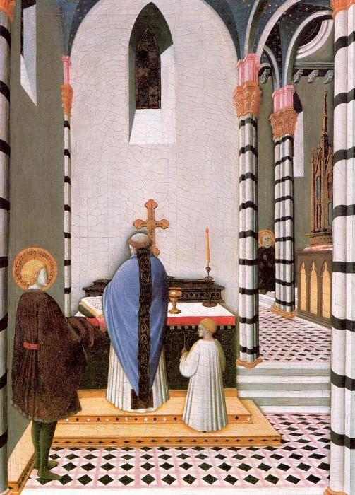 Osservanza, Master of the (Italian, Active 1430-50) 2. The Italian artists