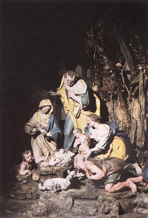 SAMMARTINO Giuseppe Nativity. The Italian artists