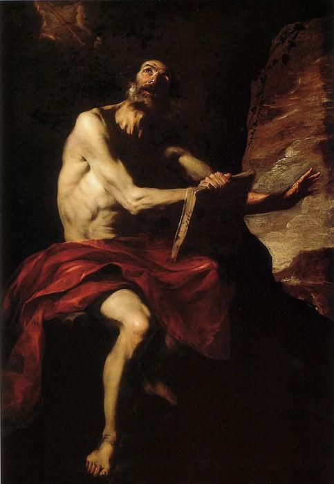 Saint Jerome. The Italian artists
