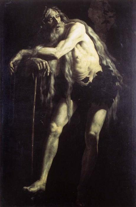 CARACCIOLO Giovanni Battista St Onophrius. The Italian artists