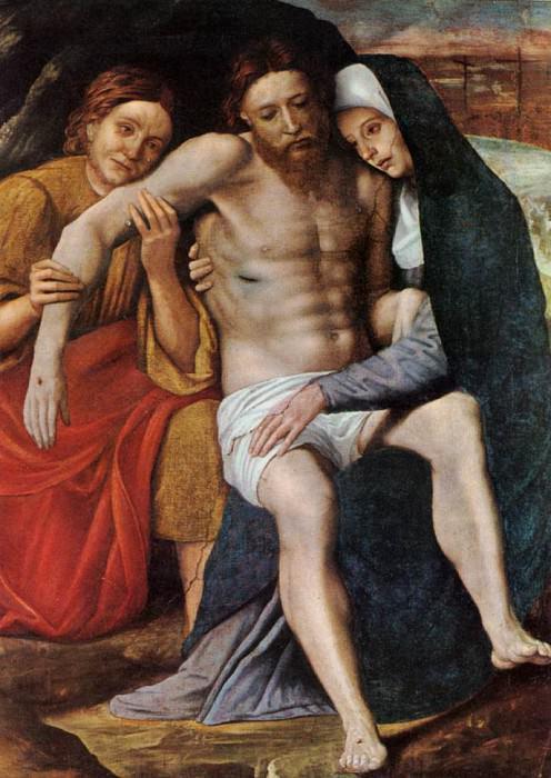 КАРОТО, Джованни Франческо - Погребение слёз. Итальянские художники