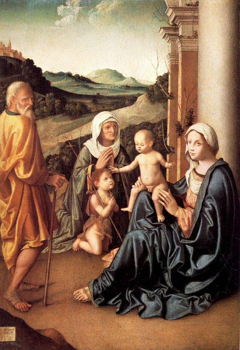 Palmezzano, Marco (Italian, Approx. 1459-1539) 1. The Italian artists