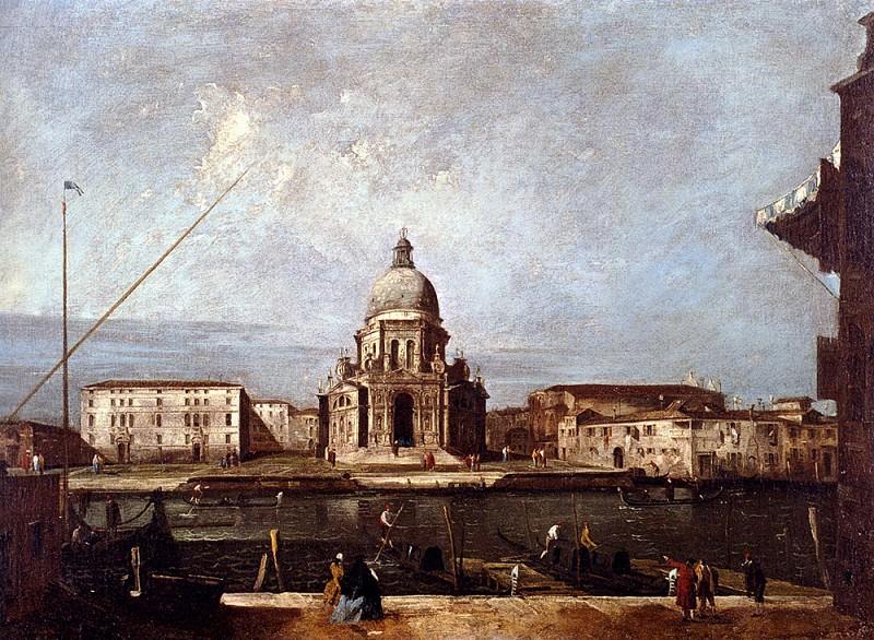 Albotto Francesco Santa Maria Della Salute. The Italian artists