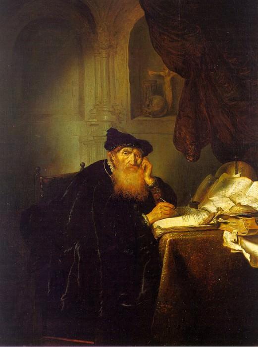 Hecken, Abraham van der (Dutch, active 1635-1655). The Italian artists