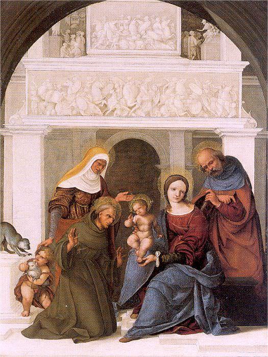 Mazzolino, Ludovico (Italian, active 1504-1530). The Italian artists
