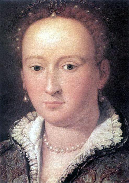 ALLORI Alessandro Portrait Of A Woman. The Italian artists