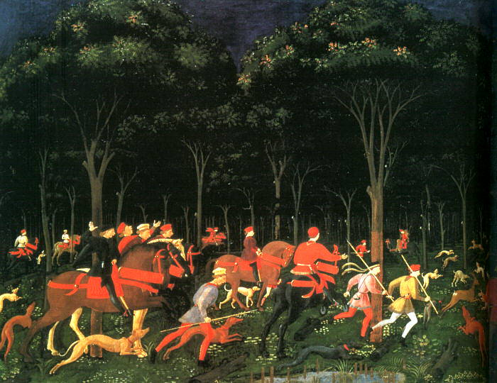 Ucello, Paolo (or Uccello, Italian, 1395-1475) 2. The Italian artists
