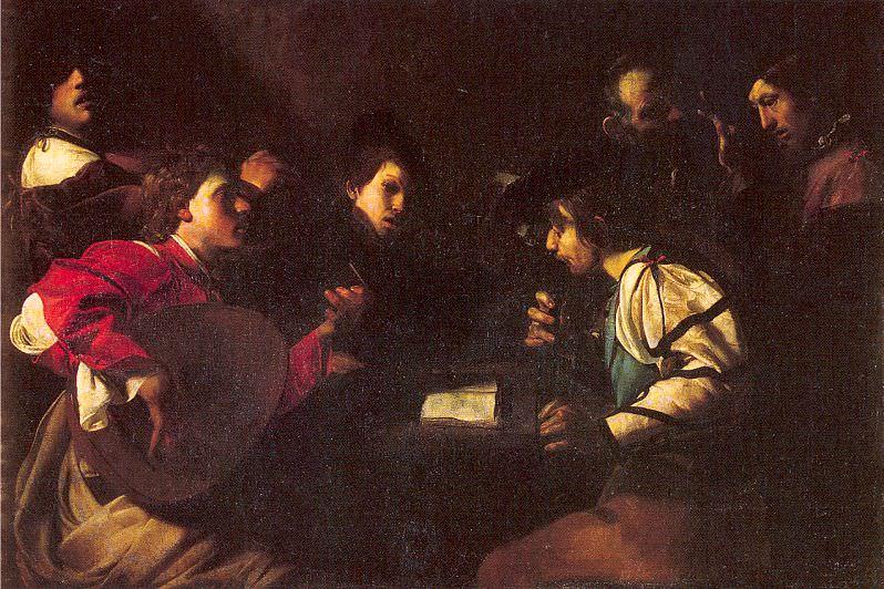 Manfredi, Bartolomeo (Italian, approx. 1580-1621). The Italian artists