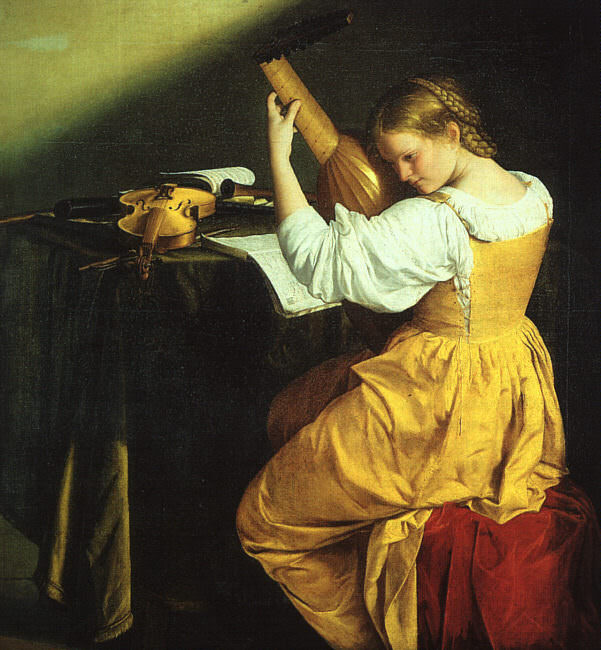 Gentileschi, Orazio (Orazio Lomi, Italian, approx. 1563-1639). The Italian artists