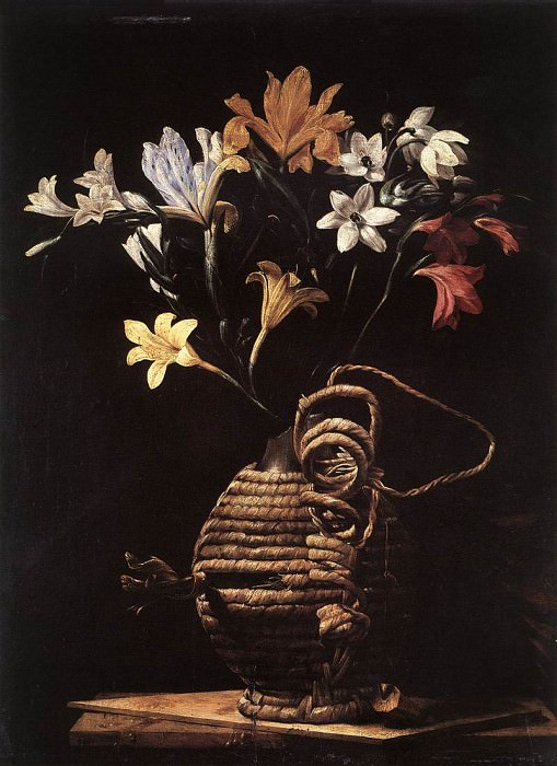 CAGNACCI Guido Flowers In A Flask. The Italian artists