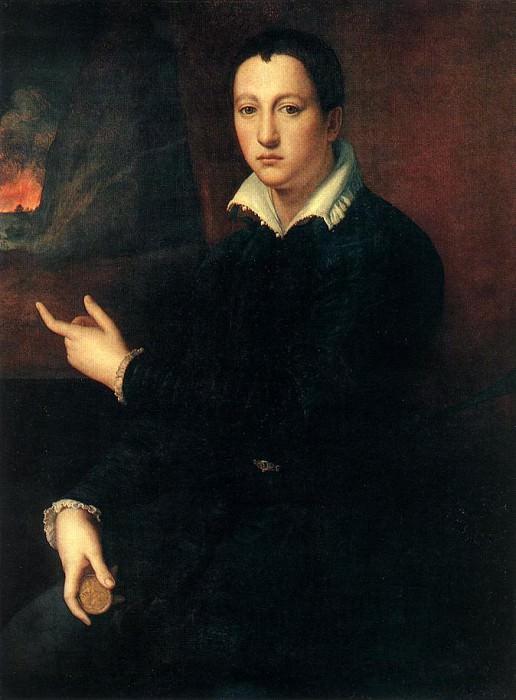 АЛЛОРИ, Алессандро - Портрет молодого мужчины. Итальянские художники