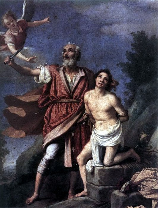 EMPOLI Sacrifice Of Isaac. Итальянские художники
