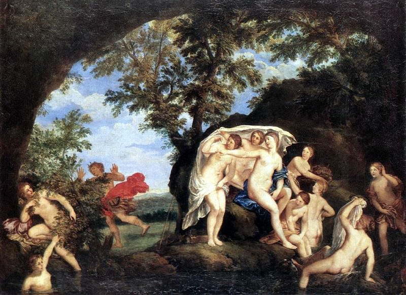 ALBANI Francesco Diana And Actaeon. The Italian artists