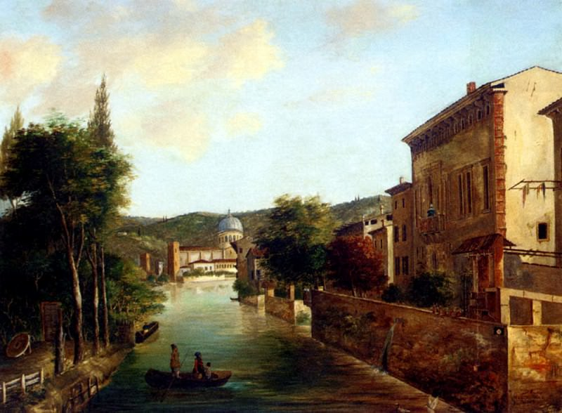 Faci G An Italian Canal. The Italian artists