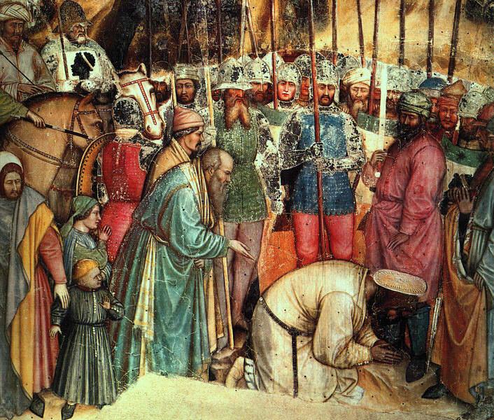 Altichiero (Italian, approx. 1330-1385). Итальянские художники