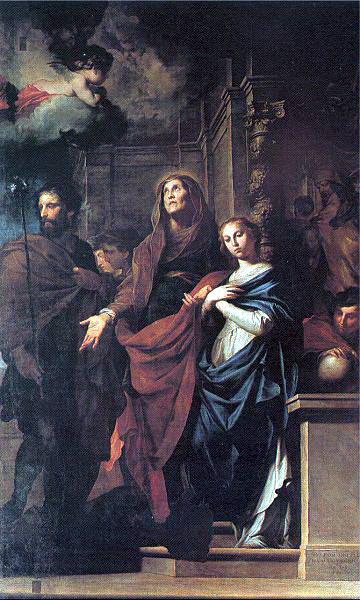 Novelli, Pietro (Italian, 1603-47) 1. The Italian artists