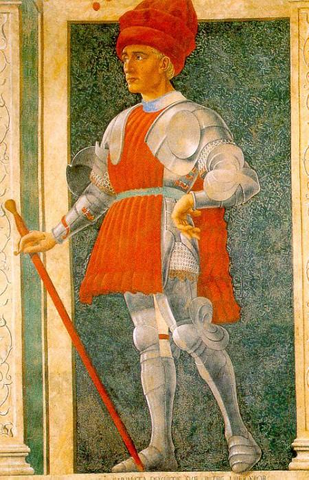 Castagno, Andrea del (Italian, 1420-1457) castagno3. The Italian artists