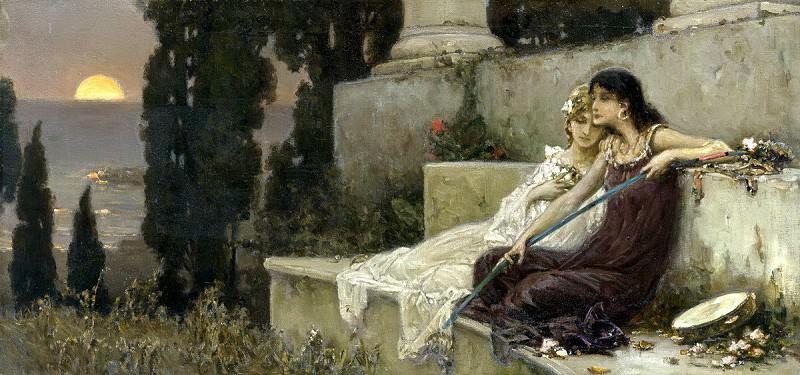 Evening Silence. Котарбинский Вильгельм Александрович