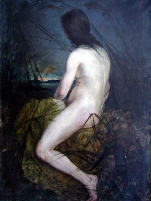 Nude in Qamïs. 1900 e. Kotarbinski William A.