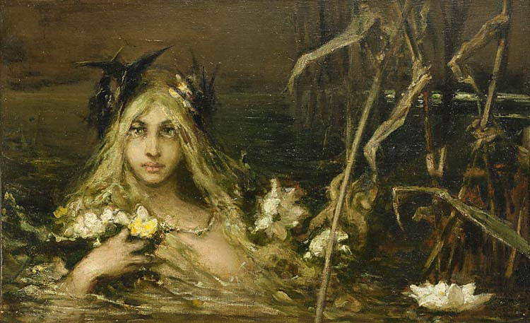 Water Nymph, private collection. Kotarbinski William A.