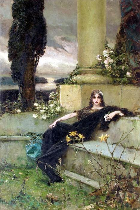Afternoon silence, 1900. Котарбинский Вильгельм Александрович