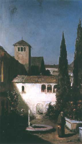 W klasztornej ciszy. Kotarbinski William A.