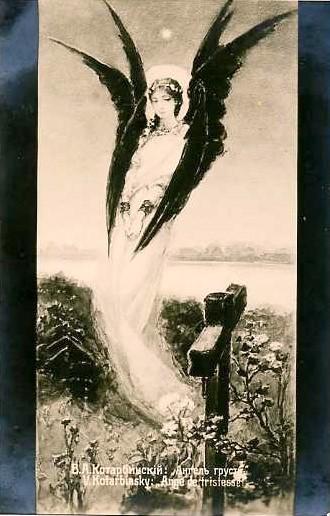 Angel of sadness. Kotarbinski William A.