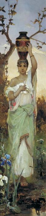 Woman with a Jug. Kotarbinski William A.