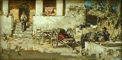 Сцена из римской жизни. Котарбинский Вильгельм Александрович