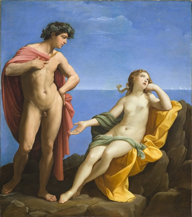 Bacchus and Ariadne. Guido Reni