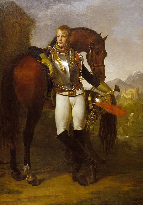 Baron Antoine-Jean Gros - Portrait of Second Lieutenant Charles Legrand. Los Angeles County Museum of Art (LACMA)
