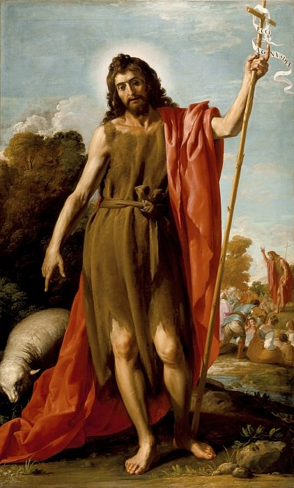 Jose Leonardo - Saint John the Baptist in the Wilderness. Los Angeles County Museum of Art (LACMA)