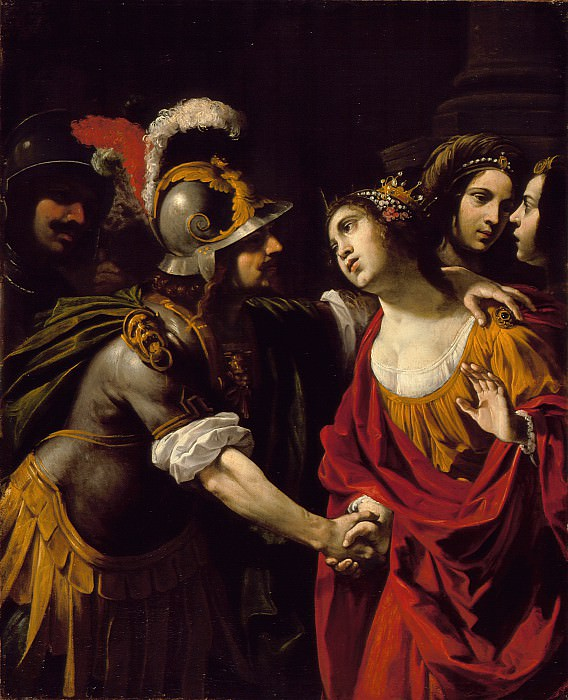 Rutilio Manetti - Dido and Aeneas. Los Angeles County Museum of Art (LACMA)