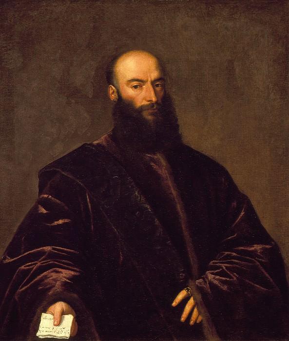 Titian (Tiziano Vecellio) - Portrait of Giacomo Dolfin. Los Angeles County Museum of Art (LACMA)