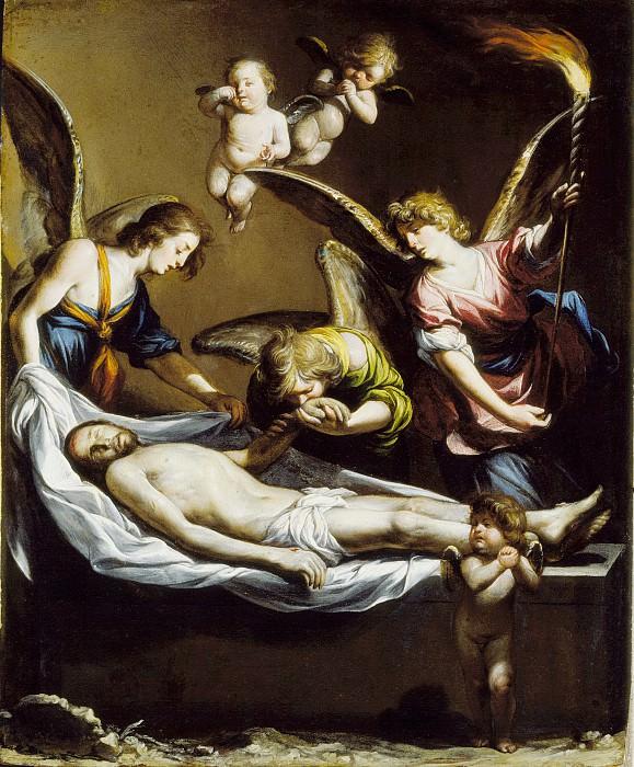 Antonio del Castillo y Saavedra - Dead Christ with Lamenting Angels. Los Angeles County Museum of Art (LACMA)