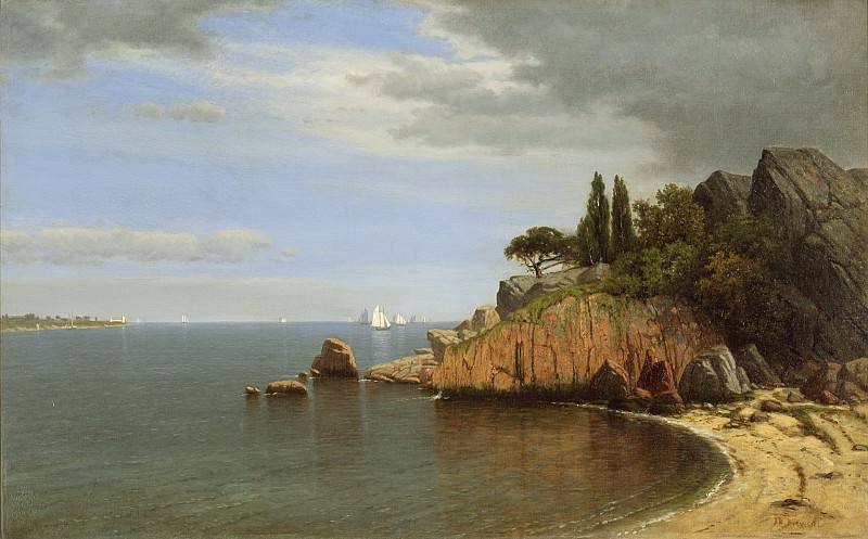 James Renwick Brevoort - Inside Eastern Point, Gloucester Bay. Los Angeles County Museum of Art (LACMA)