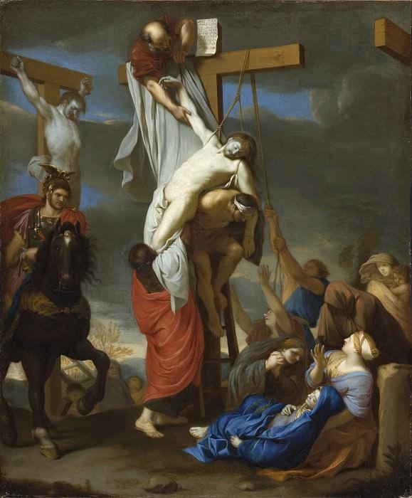 Шарль Лебрен - Снятие с креста. LACMA (Лос Анджелес)