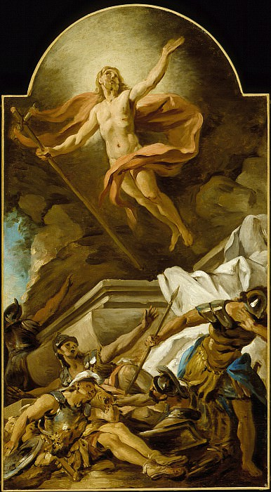 Jean-Francois De Troy - The Resurrection. Los Angeles County Museum of Art (LACMA)