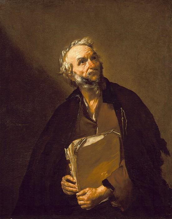 Хусепе де Рибера - Философ. LACMA (Лос Анджелес)