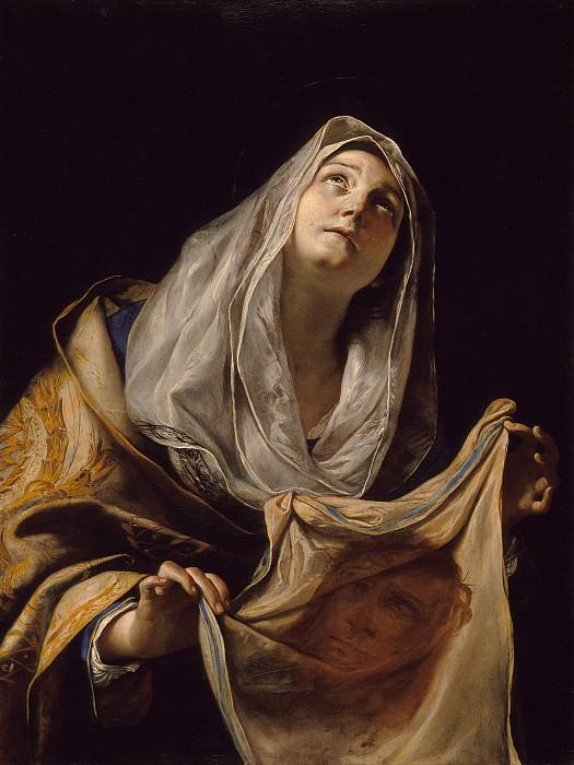 Mattia Preti - Saint Veronica with the Veil. Los Angeles County Museum of Art (LACMA)