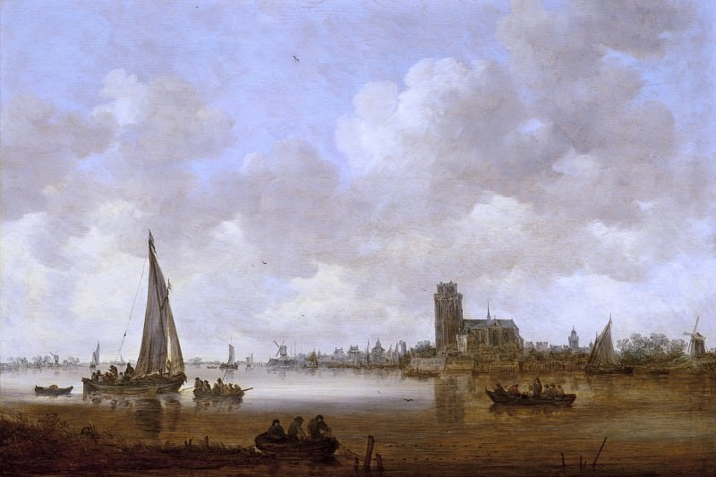 Jan van Goyen - View of Dordrecht. Los Angeles County Museum of Art (LACMA)