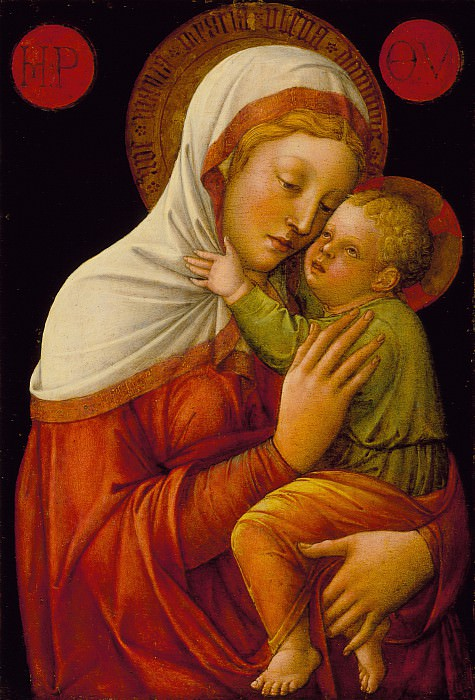 Jacopo Bellini - Madonna and Child. Los Angeles County Museum of Art (LACMA)
