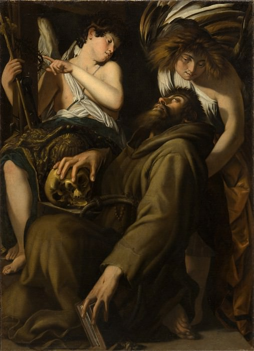 Giovanni Baglione - The Ecstasy of Saint Francis. Los Angeles County Museum of Art (LACMA)