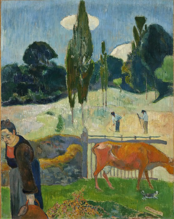Paul Gauguin - The Red Cow. Los Angeles County Museum of Art (LACMA)