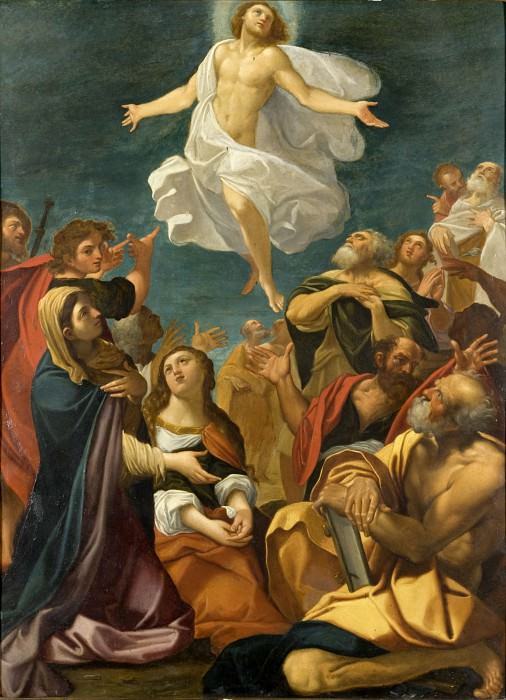 Giacomo Cavedone - Ascension of Christ. Los Angeles County Museum of Art (LACMA)