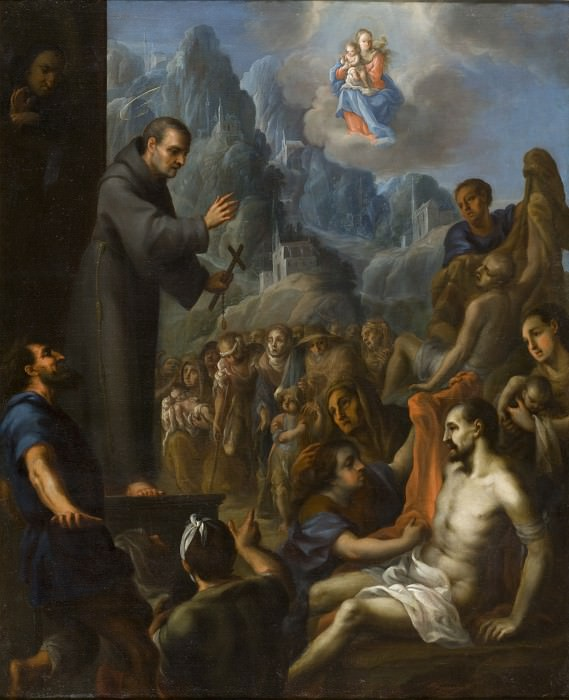 Juan Rodriguez Juarez - Miracles of Saint Salvador de Horta (Milagros del beato Salvador de Horta). Los Angeles County Museum of Art (LACMA) (attributed to)