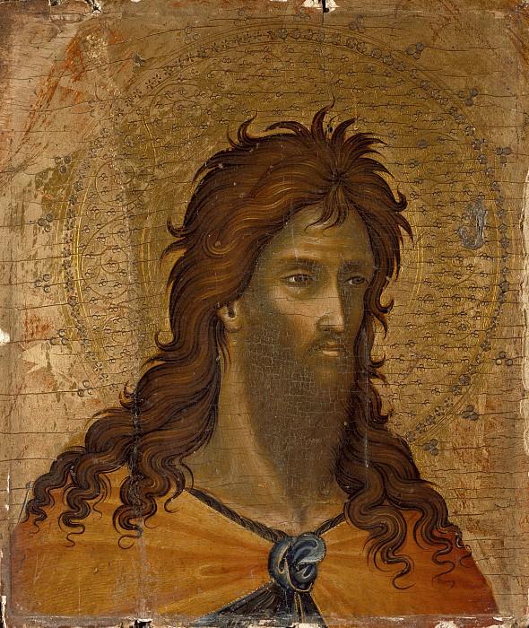 Paolo Veneziano - St. John the Baptist. Los Angeles County Museum of Art (LACMA) (fragment)