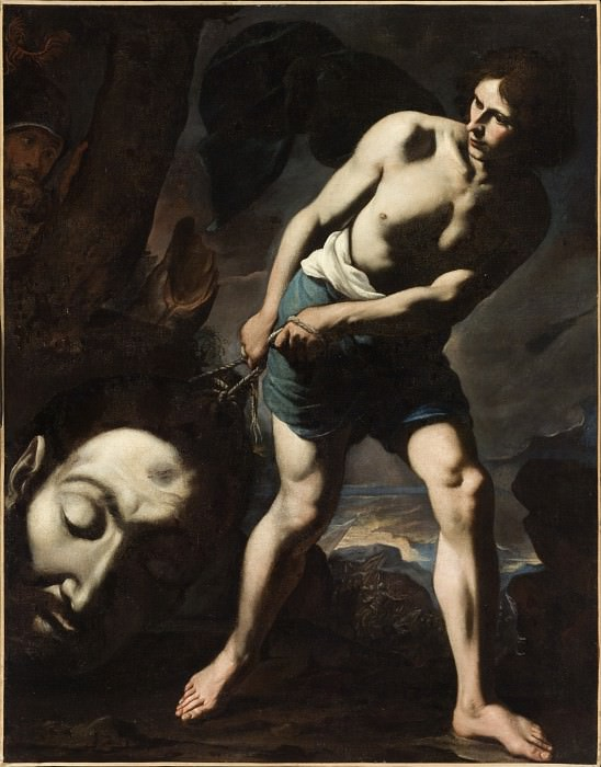 Andrea Vaccaro - David with the Head of Goliath. Los Angeles County Museum of Art (LACMA)