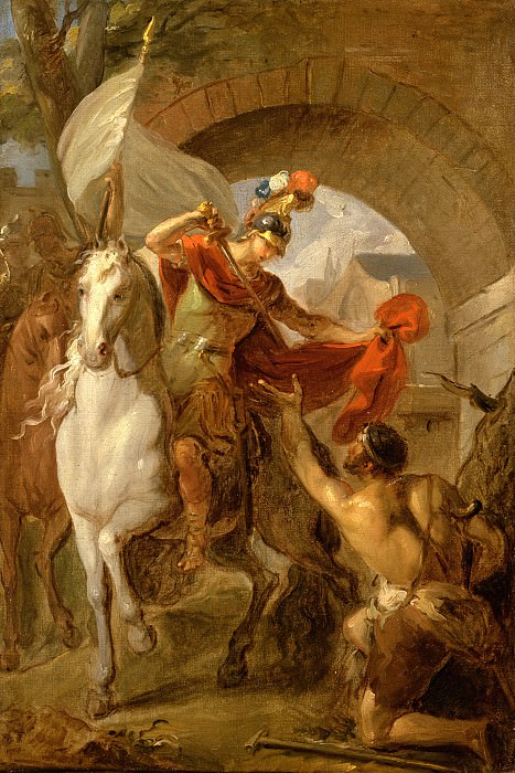 Louis Galloche - A Scene from the Life of St. Martin. Los Angeles County Museum of Art (LACMA)